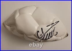 Cristiano Ronaldo Signed White CR7 Museum Ball