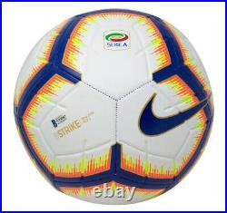Cristiano Ronaldo Signed White Nike Strike Soccer Ball Fanatics BAS Hologram