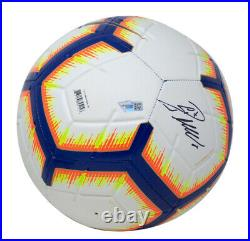 Cristiano Ronaldo Signed White Nike Strike Soccer Ball withCase Fanatics