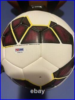 Cristiano Ronaldo autographed soccer ball from 2006 PSA/DNA VERY RARE