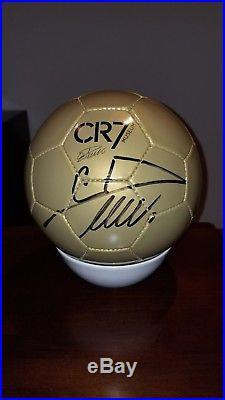 Cristiano Ronaldo hand signed autographed Ball