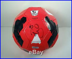 Daniel Sturridge England Liverpool Signed Autograph Epl Soccer Ball Futbol Coa