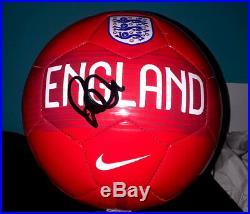 DAVID BECKHAM NIKE ENGLAND SIGNED AUTOGRAPHED SOCCER BALL WithJSA LOA