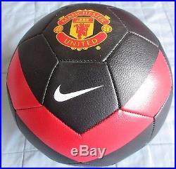 David Beckham Signed Manchester United Nike Size 5 Soccer Ball Dc/coa Full Name