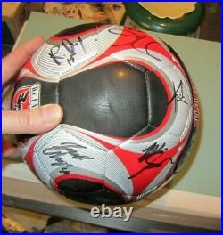 DC United 20 Autograph Team Signed MLS Soccer Ball Pat Carroll Devon McTavish