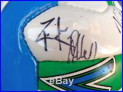 DEF LEPPARD AUToGRaPHeD SoCCeR BaLL SIGNED 1999 MaTCH vs WZZO RaDio aLLeNToWN PA