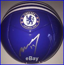 Didier Drogba Signed Autographed Chelsea Fc Soccer Ball Ivory Coast Legend Coa