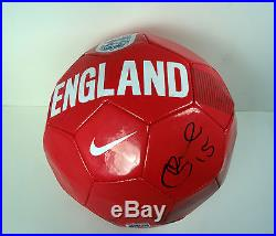 Daniel Sturridge Liverpool Signed Autograph England Soccer Ball Futbol Coa