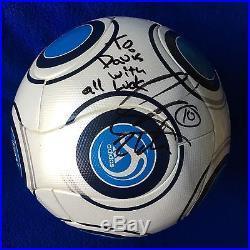 David Beckham Autographed Adidas Terrapass Official Match Soccer Ball