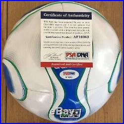 David Beckham Licensed Psa/dna Authenticated Signed Adidas New Mls Official Ball
