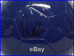 David Beckham Signed Autograhed England Soccer Ball PSA