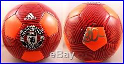 David Beckham Signed Manchester United Soccer Ball COA