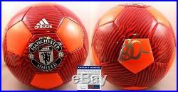 David Beckham Signed Manchester United Soccer Ball PSA/DNA COA