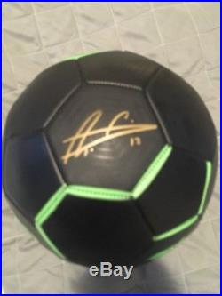 Davide Astori Signed Autographed Mitre Soccer Ball Fiorentina Italy A Defense