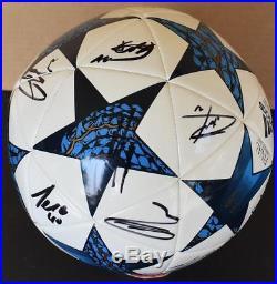 De Gea Pogba Lukaku Rashford+ Manchester United Team Signed Soccer Ball EPL FIFA