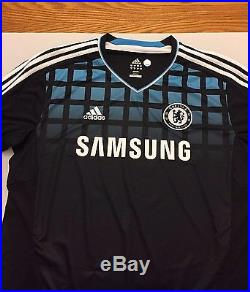 Didier Drogba Signed Chelsea Jersey Soccer Football Memorabilia +COA Adidas