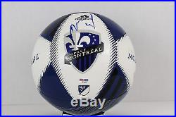 Didier Drogba Signed Montreal Impact MLS Soccer Ball Chelsea EPL PSA COA AB16444