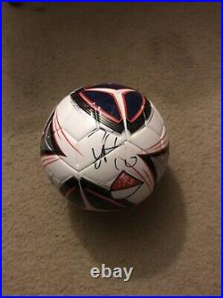 Diego Forlán Signed Soccer Football Futball Ball Proof Manchester United
