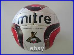 Doncaster Rovers Mitre Match Ball used 2012 squad signed