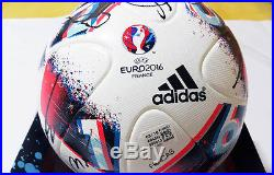 EURO 2016 CHAMP Portugal Squad Signed FRACAS Official Final Match Ball+COA