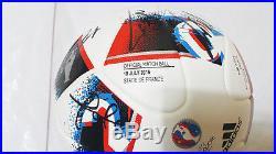 EURO 2016 Portugal Signed FRACAS MDT FINAL(vs France)Official Match Ball RARE