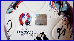EURO 2016 Portugal Squad Signed FRACAS FINAL Official Match Ball AO4851