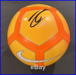 EXACT PROOF! ZLATAN IBRAHIMOVIC Signed Autographed Soccer Ball LA GALAXY EPL