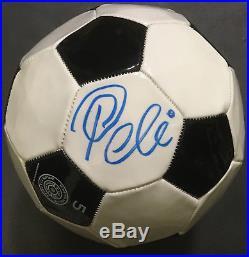 Edson Pele signed Baden Soccer Ball autograph PSA/DNA COA Brazil NY Cosmos