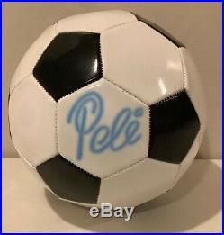 Edson Pele signed Soccer Ball autograph PSA/DNA COA Brazil NY Cosmos