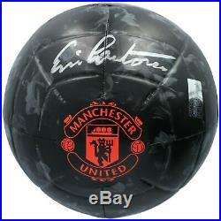 Eric Cantona Manchester United F. C. Signed Soccer Ball