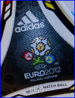 Euro 2012 Autographed Official Match Soccer Ball Mexican National Team