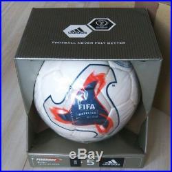 FIFA Fevernova official number 5 ball Adidas Beckham signed Japan Korea