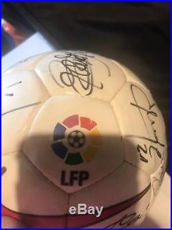 Fc Barcelona signed ball 1997/1998