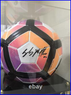 Football Soccer Ball Signed Gigi Buffon Juventus Italy COA Included