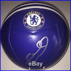 Frank Lampard Signed Autographed Chelsea Fc Soccer Ball England Legend Coa