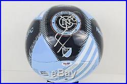 Frank Lampard Signed NYCFC MLS Soccer Ball England Chelsea EPL PSA COA #AB16434