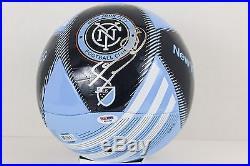 Frank Lampard Signed NYCFC MLS Soccer Ball England Chelsea EPL PSA COA #AB16439