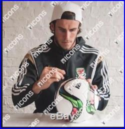 Gareth Bale Signed Adidas Context 15 Ball (ICONS COA)