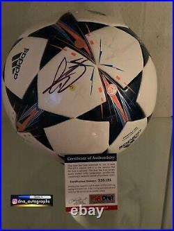 Gareth Bale Signed Ball Real Madrid Signed Ball Bas Coa 3