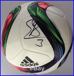 Gerard Pique Signed Soccer Ball Autographed PSA/DNA COA Barcelona Adidas Shakira