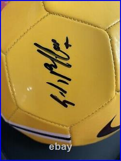 Gianluigi Buffon Autographed Soccer Ball Juventus