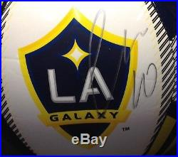 Giovani Dos Santos Signed LA Galaxy Soccer Ball PSA/DNA Cert #Z83835