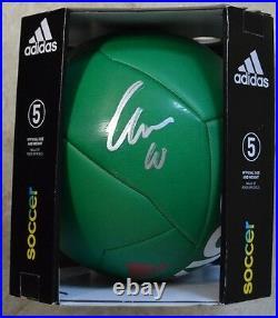 Giovani dos Santos Signed Mexico Soccer Ball with JSA COA #S30516 LA Galaxy Futbol