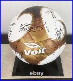 Guardianes 2021 Cruz Azul Mexico CHAMPIONS squad autographed signed Liga MX Ball
