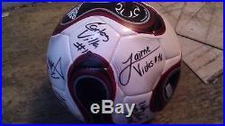 Guatemala Signed 2008 U-23 National Team Signed Soccer Ball