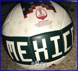 Guillermo Memo Ochoa Signed 2018 México World Cup Soccer Ball Exact Proof