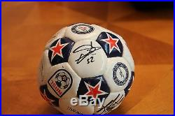 HOLY GRAIL Soccer Ball Autographed By 9 Tampa Bay Rowdies NASL FIFA Cup WOW