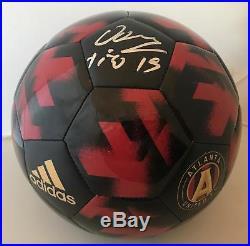 Hector Villalba signed Atlanta United FC Logo Soccer Ball Size 5 Tito
