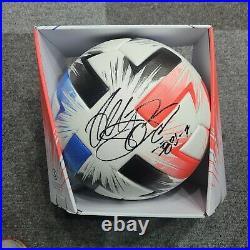 Heung min Son signed Tsubasa OMB match ball