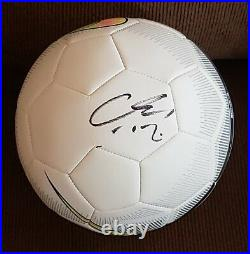 Hirving Chucky Lozano Signed Auto'd Nike Soccer Ball Mexico World Cup Psv B